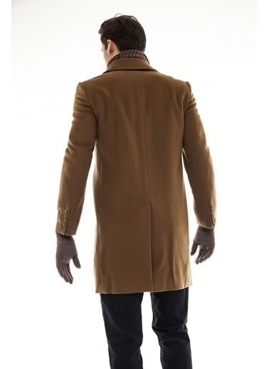 Silk and Cashmere Palto Camel